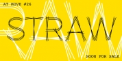 AT Move Straw font download