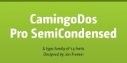 CamingoDos Pro SemiCondensed font download