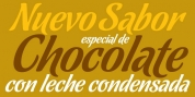 Chocolate OT font download