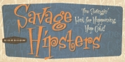 Savage Hipsters font download