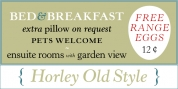 Horley Old Style font download