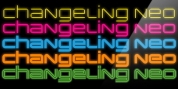 Changeling Neo font download