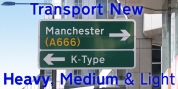 Transport New font download
