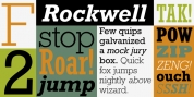 Rockwell font download