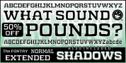 WHAT SOUND POUNDS? font download