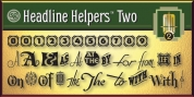 Headline Helpers Two SG font download