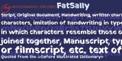 Fat Sally font download
