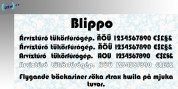 Blippo font download