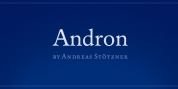 Andron 1 Latin Corpus font download