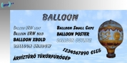 Balloon font download