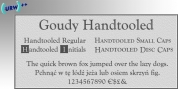 Goudy Handtooled font download