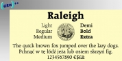 Raleigh font download