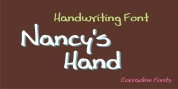 Nancy's Hand font download