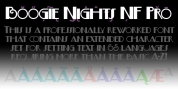 Boogie Nights NF Pro font download