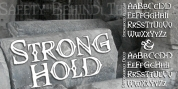 Stronghold BB font download