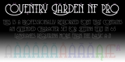 Coventry Garden NF Pro font download