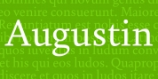 Augustin font download