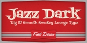 Fontdinerdotcom Jazz Dark font download