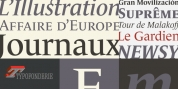 Le Monde Journal Std font download
