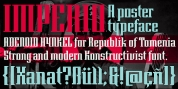 Imperio font download