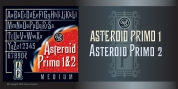 Asteroid Primo SG font download