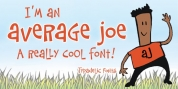 Average Joe font download