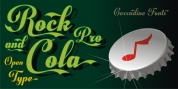 Rock And Cola font download