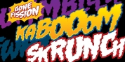 Gone Fission BB font download