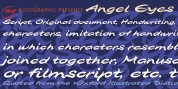 Angel Eyes font download
