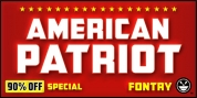 CFB1 American Patriot font download