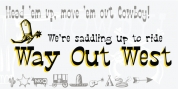 P22 Way Out West font download