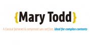 MaryTodd font download