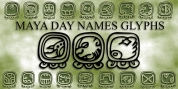 Maya Day Names font download