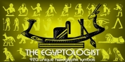 Egyptian Hieroglyphics - The Egyptologist font download