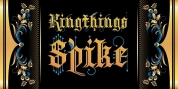 Kingthings Spike Pro font download