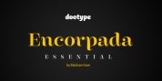 Encorpada Essential font download