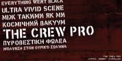 The Crew Pro font download