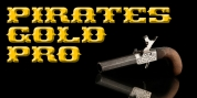 Pirates Gold Pro font download