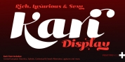 Kari Display font download