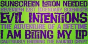 Evil Intentions PB font download