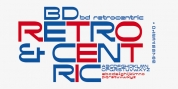 BD Retrocentric font download