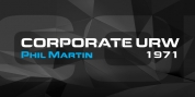 Corporate URW font download