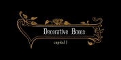 Decorative Boxes font download