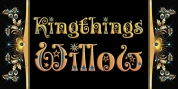 Kingthings Willow Pro font download