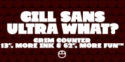 Grim Counter font download