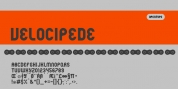 Velocipede font download