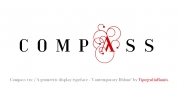 Compass TRF font download