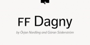 FF Dagny font download