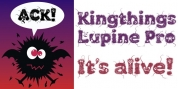 Kingthings Lupine Pro font download