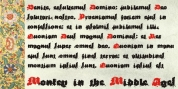 Monkey In The Middle Ages font download